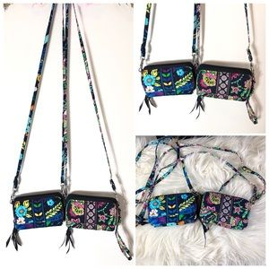 2 Vera Bradley - All In One Crossbody Wristlet